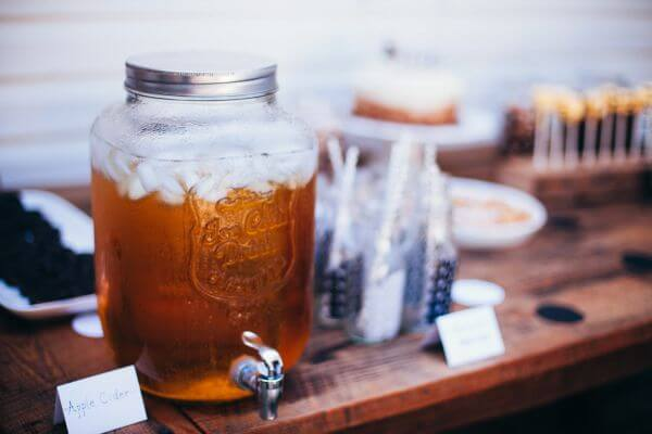 Ice Cold Drink Vintage Party Decorations Apple Cider photo