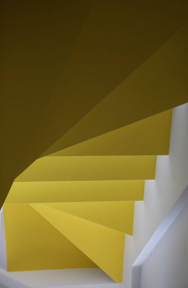 Public Domain Images White Yellow Stairs Abstract photo