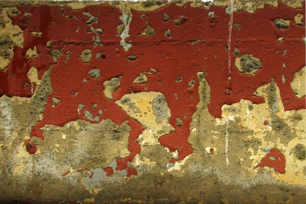 wall with peeling paint photo