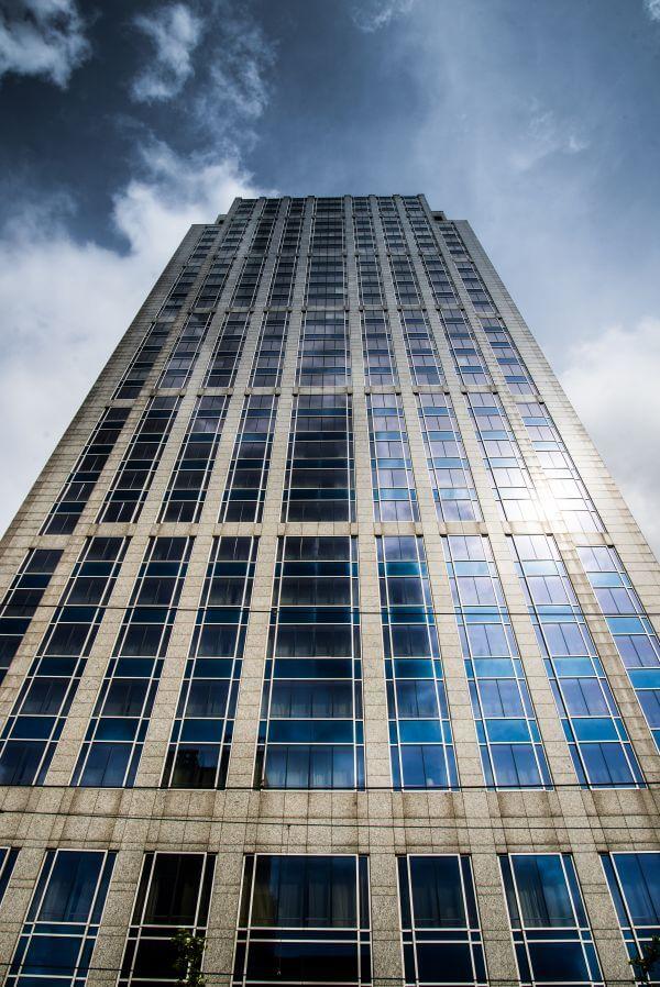 Symmetric building photo
