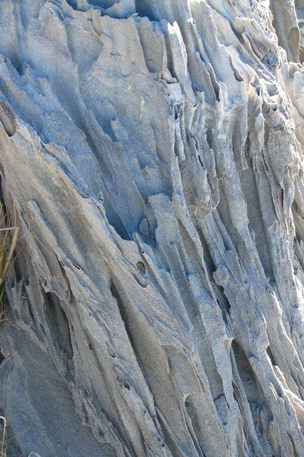eroded rock texture closeup photo