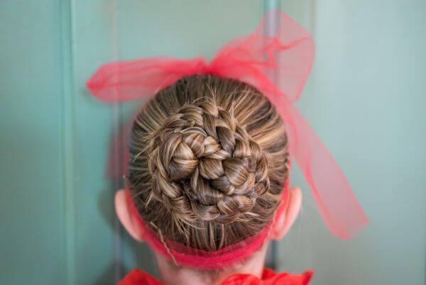 Hair knot photo