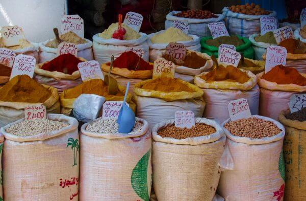 Spices from North Africa photo