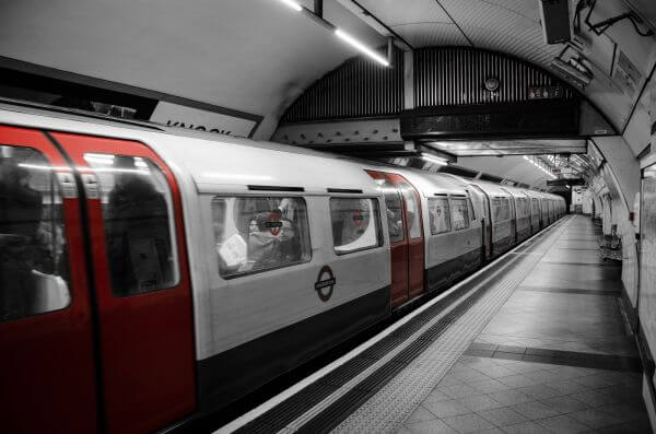 London subway photo