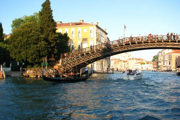 Venice canal scene photo