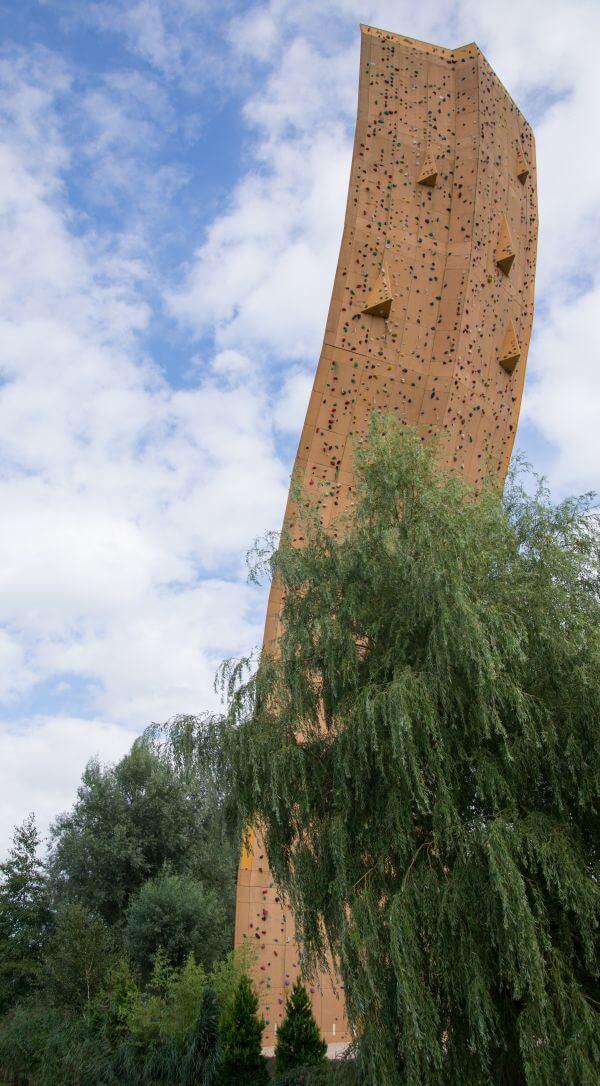Climb wall photo