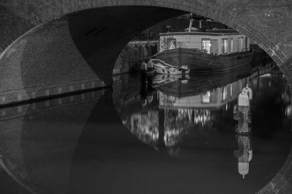 Canal boat photo