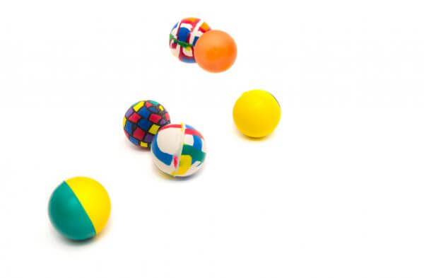 Bouncing balls photo