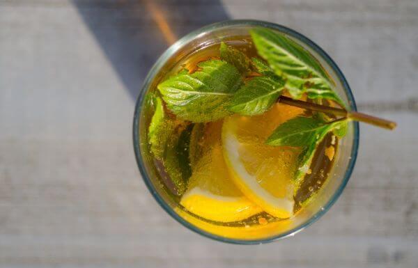 Lemon mint wodka photo