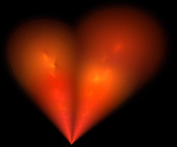 fractal heart photo