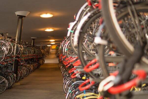 Bicycle parking photo