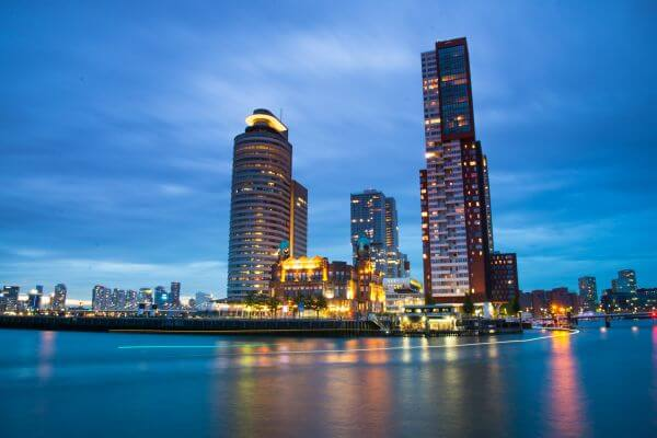 Rotterdam long exposure photo
