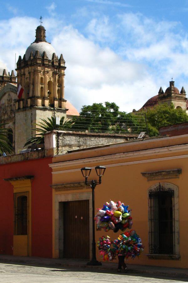balloons in Oaxaca photo