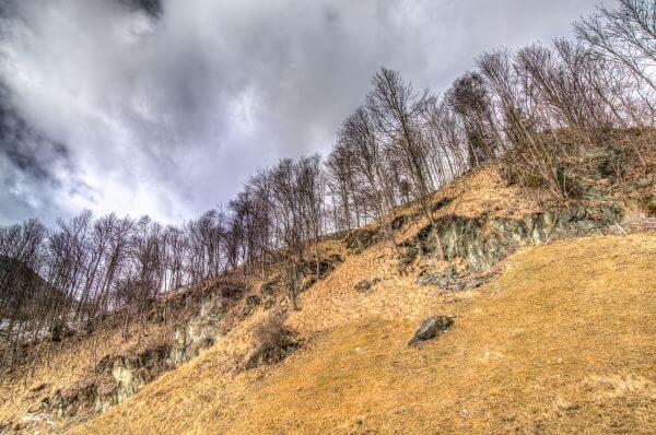 Creepy hill photo