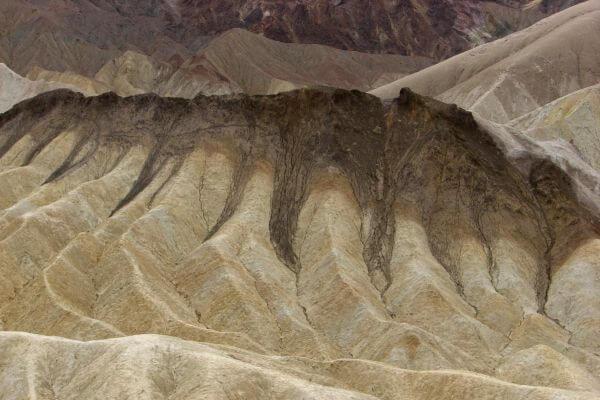Zabriskie Point closeup photo