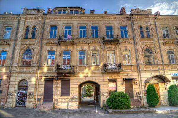 Houses in Vilnius photo