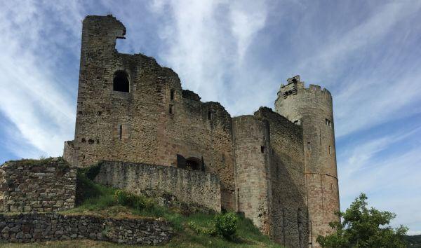 Castle of Najac photo