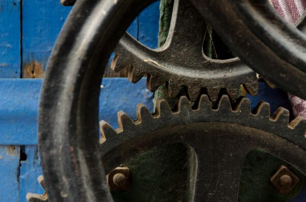 Wheel gear photo