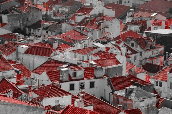 Rooftops of Lisbon photo