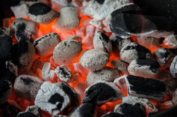 Barbecue coal photo