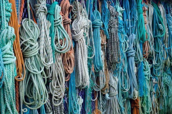 Ropes from the sea photo