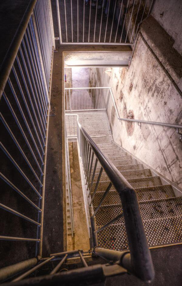 Industrial staircase photo