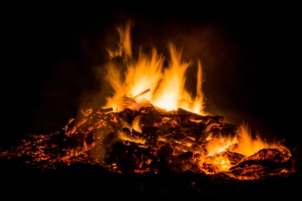 Easter fire photo