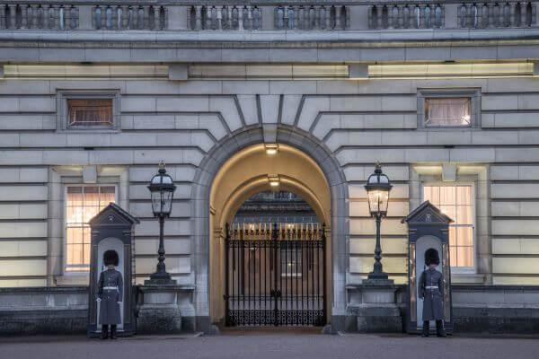Buckingham Palace guards photo
