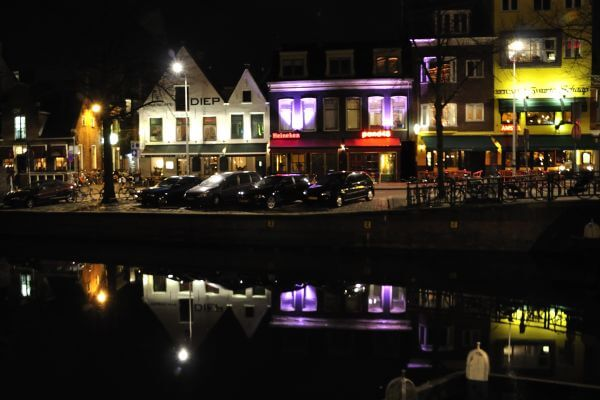 Groningen by night photo