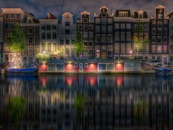 Canalboat photo