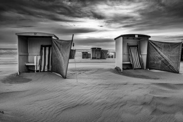 Monochromatic Cabins photo