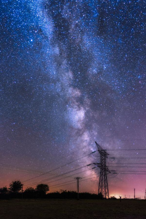 Electric Milkyway photo