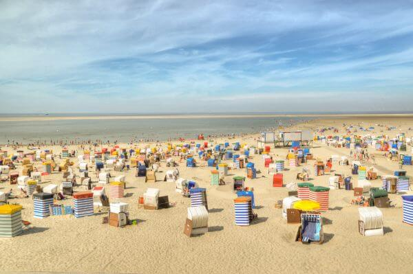 Borkum beach photo