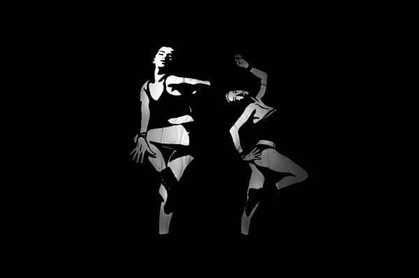 Dancing art photo