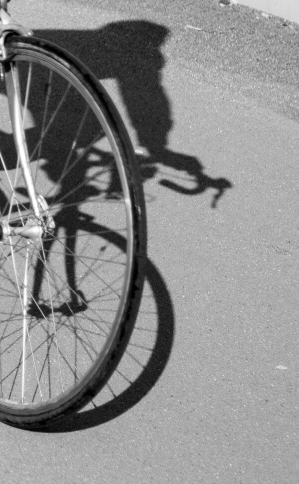 Bicycle shadow photo
