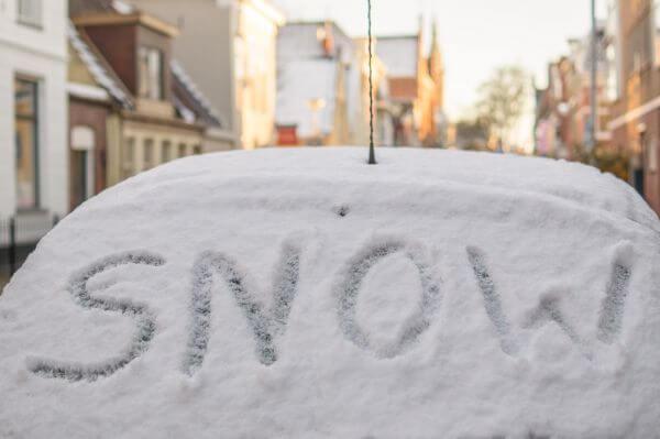No business like snow business photo