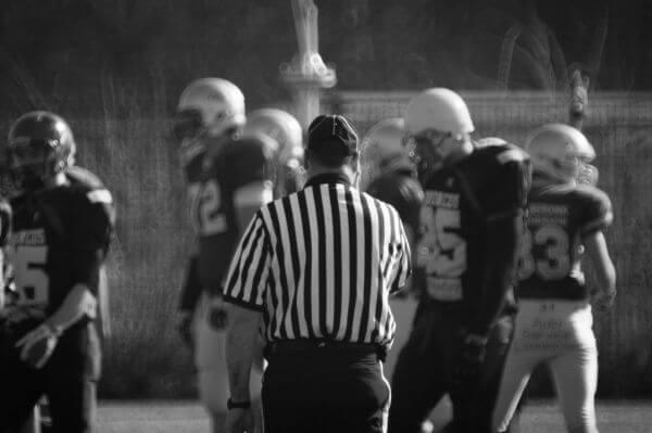 American Football referee photo