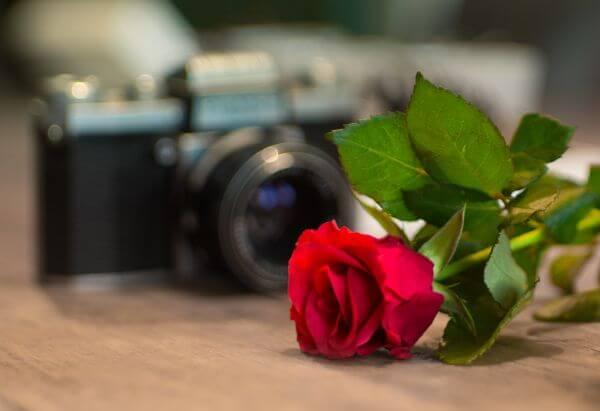 Camera Valentine photo