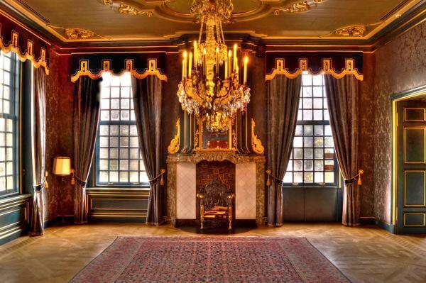 Antique room photo