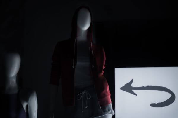 Mannequin silhouette photo