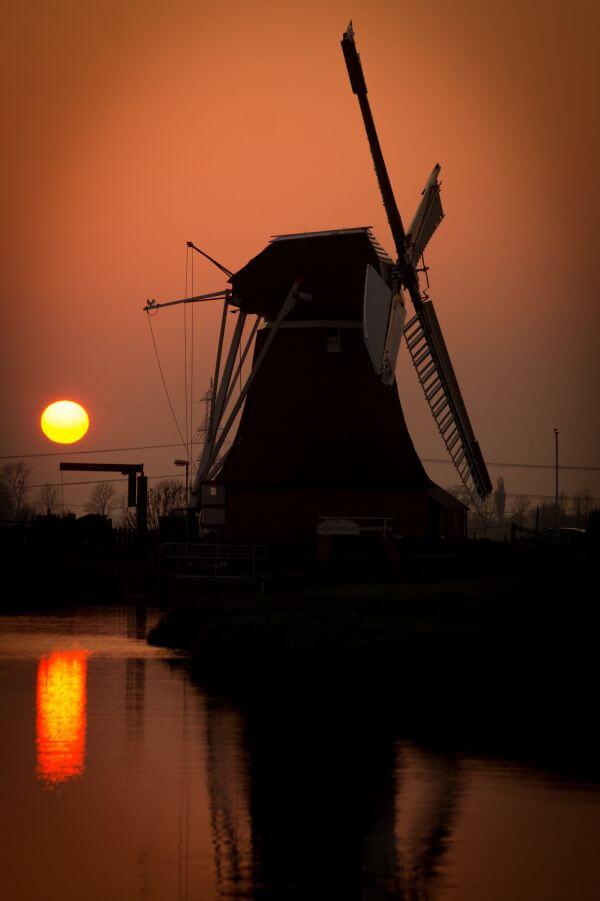Wind mill photo
