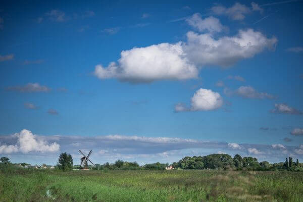 Typical dutch landscape photo