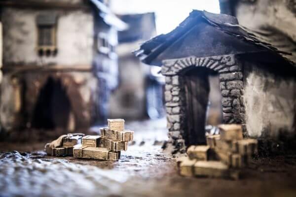 Miniature houses photo