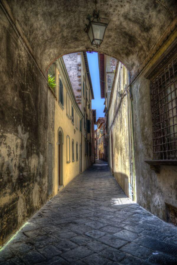 Narrow street photo
