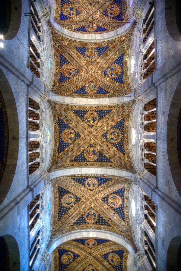 Church ceiling in Lucca photo