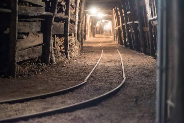 Empty mine photo
