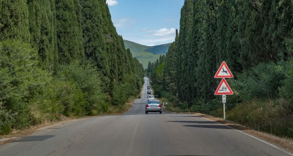 Road in Italy photo