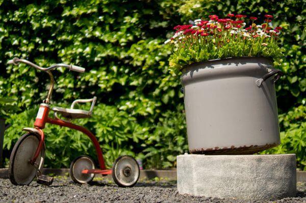 Happy garden photo