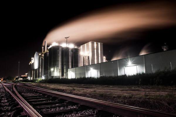Smoke with long exposure photo