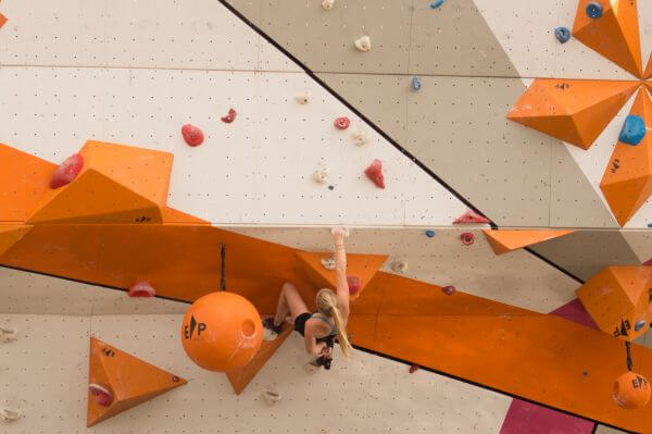 Wall climbing photo
